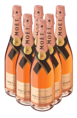 Moet & Chandon 6 Pack Nectar Imperial Rose