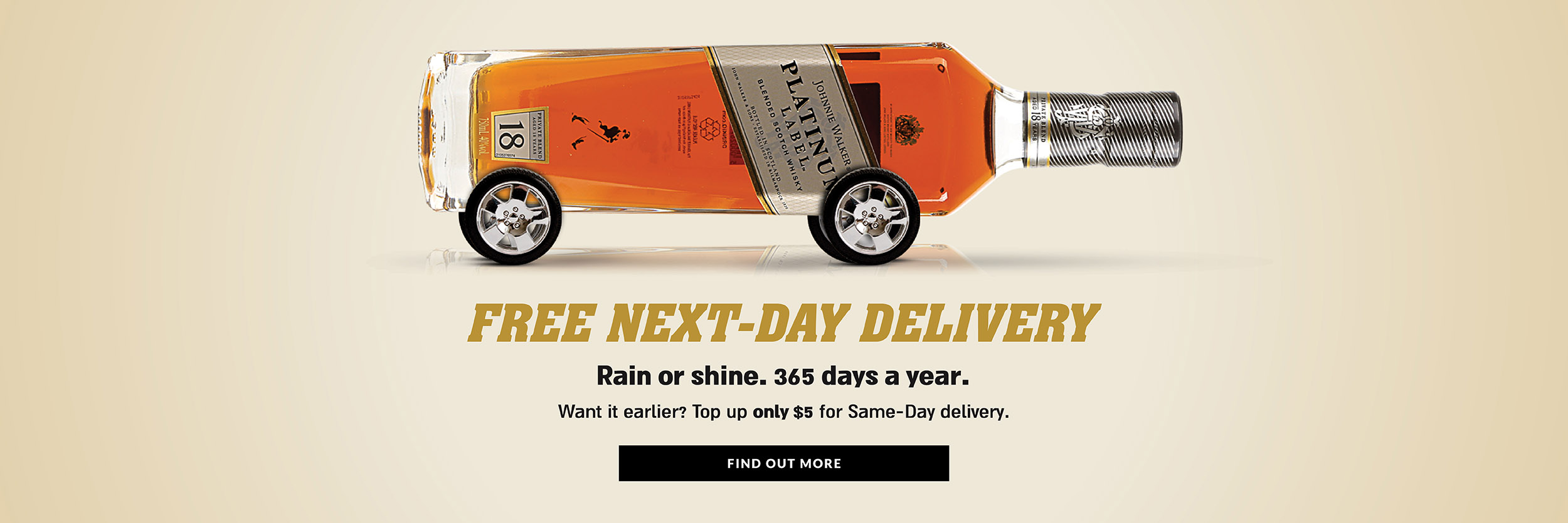 Free next day delivery large banner
